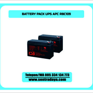 PACK APC UPS RBC109